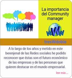 Community manager en Tomares