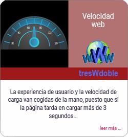 Importancia de la velocidad web